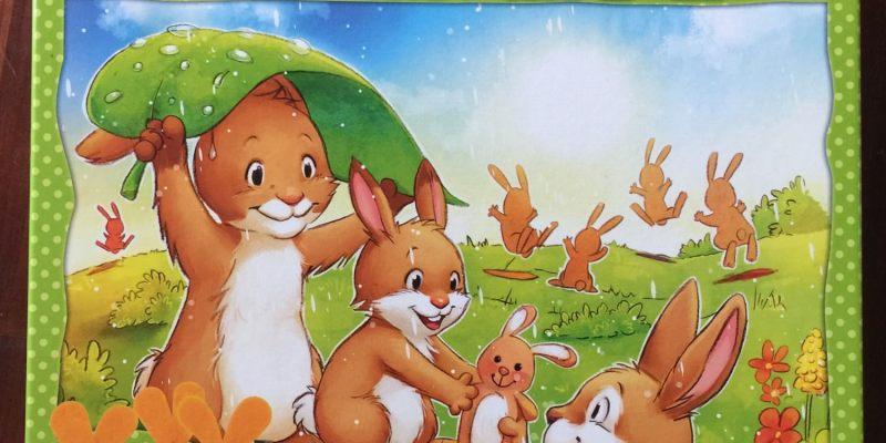 【愛桌遊】蹦蹦兔,您的第一款親子桌遊,簡單到不行的規則(喜歡複雜規則的請路過)
