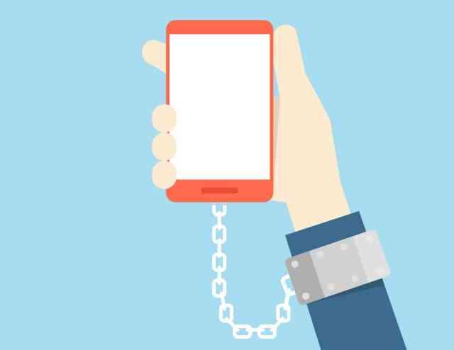 smartphone esclave