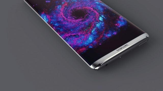 galaxy s8 ecran borderless