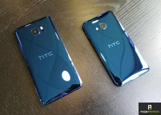 htc u play ultra bleu