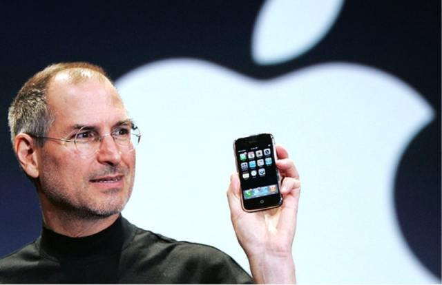 iphone 10 ans steve jobs
