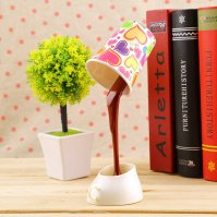 Creative USB Pour Coffee Lamp LED DIY Table Lamp Night ...