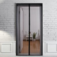 NEW Magic Curtain Door Mesh Magnetic Fastening Hands Free