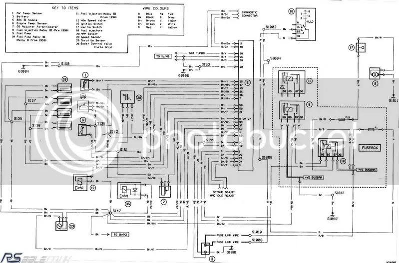 ford escort xr3i wiring diagram