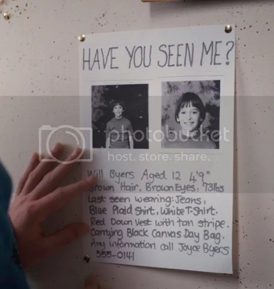 OMG my school actually made a bunch of missing posters for Will - funny missing person poster