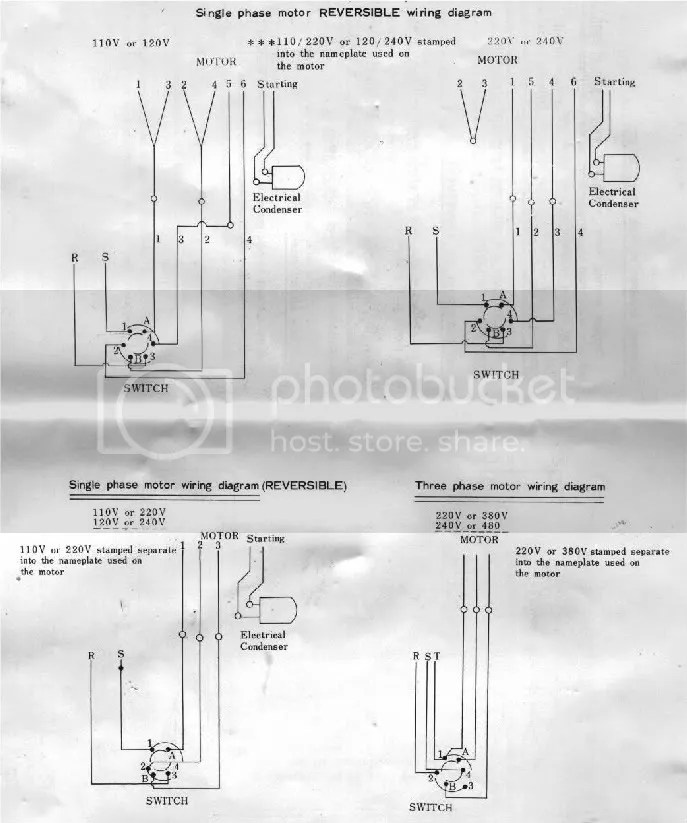 Lathe Motor Wiring Diagram Wiring Schematic Diagram