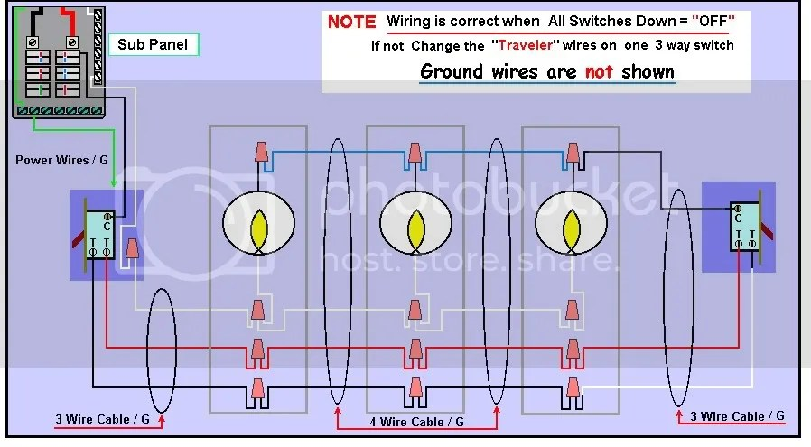 Wiring Up Lights 3 - Wiring Diagram Progresif
