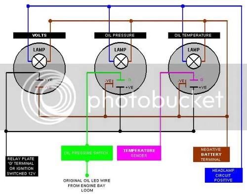 Tachometer Wiring Diagram Chevy Moreover Vdo Oil Pressure Gauge