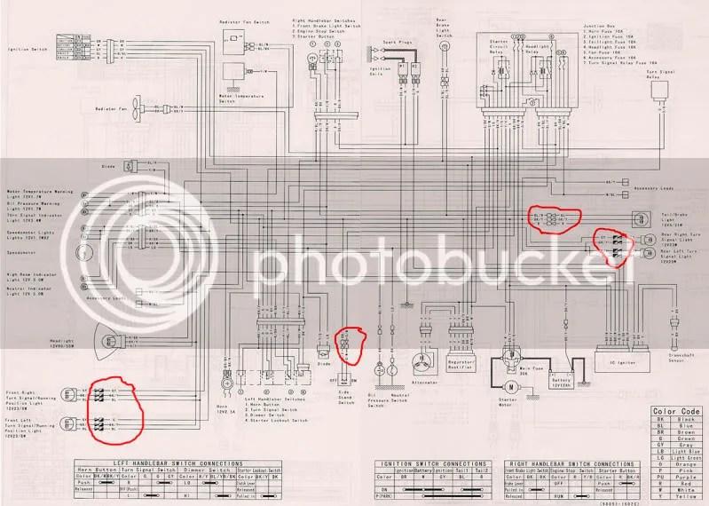 Kawasaki Motorcycle Wiring Diagrams Wiring Diagram 2019
