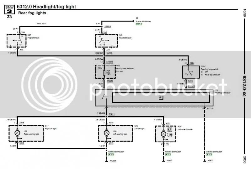 E36 Tail Light Wiring Diagram Wiring Diagram