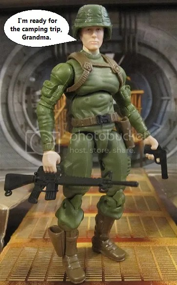 Dollar General Exclusive GI Joe Duke action figure