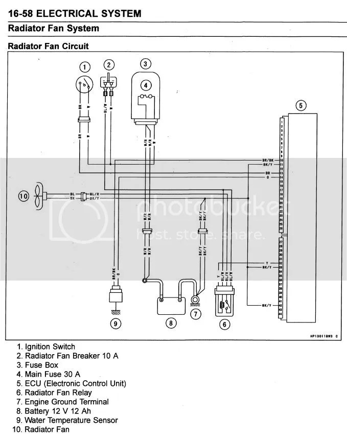 Wiring Diagram For 2003 Kawasaki 650 Prairie Wiring Diagram
