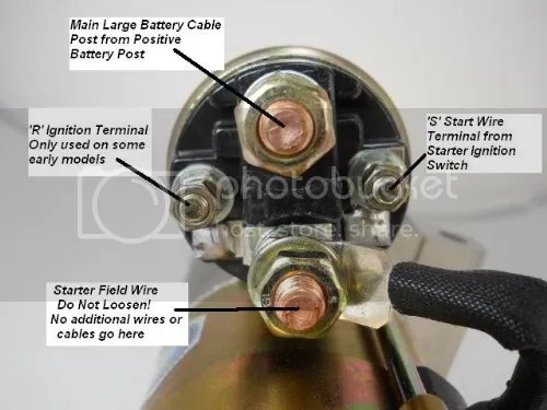 Up A Chevy Starter Wiring Wiring Diagram