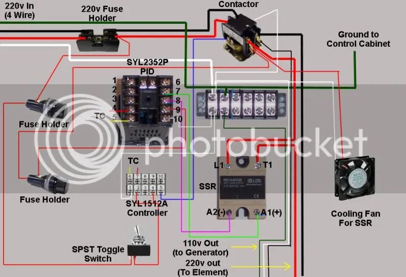 Pid Wiring Diagram 220v Wiring Diagram