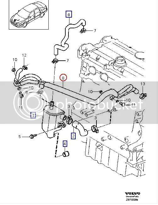 volvo xc70 engine diagram