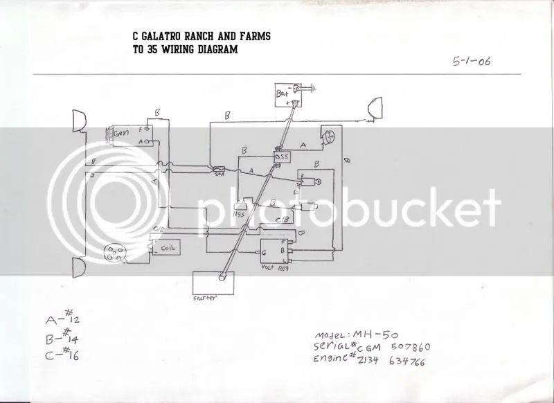 massey fergeson 50 wiring schematic