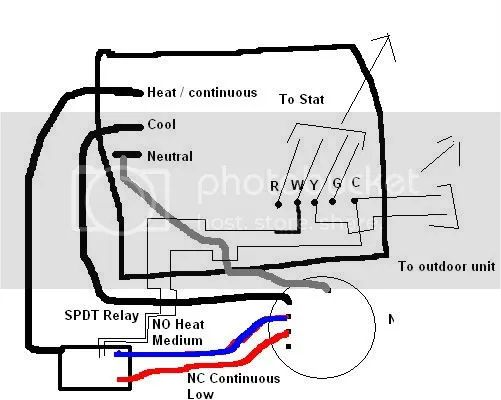 ge furnace fan relay wiring diagram