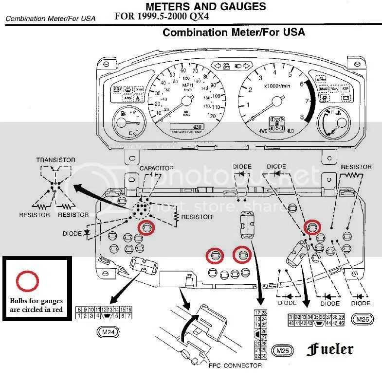 nissan pathfinder reverse light wiring diagram