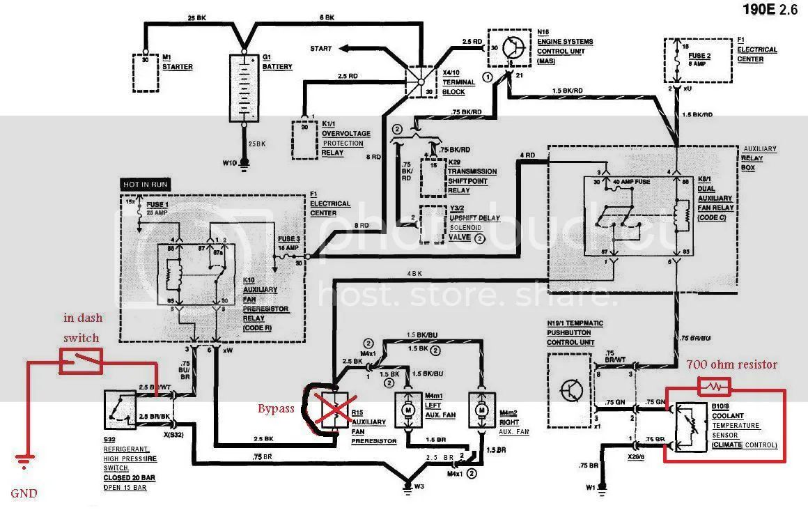 89 mercedes wiring diagram