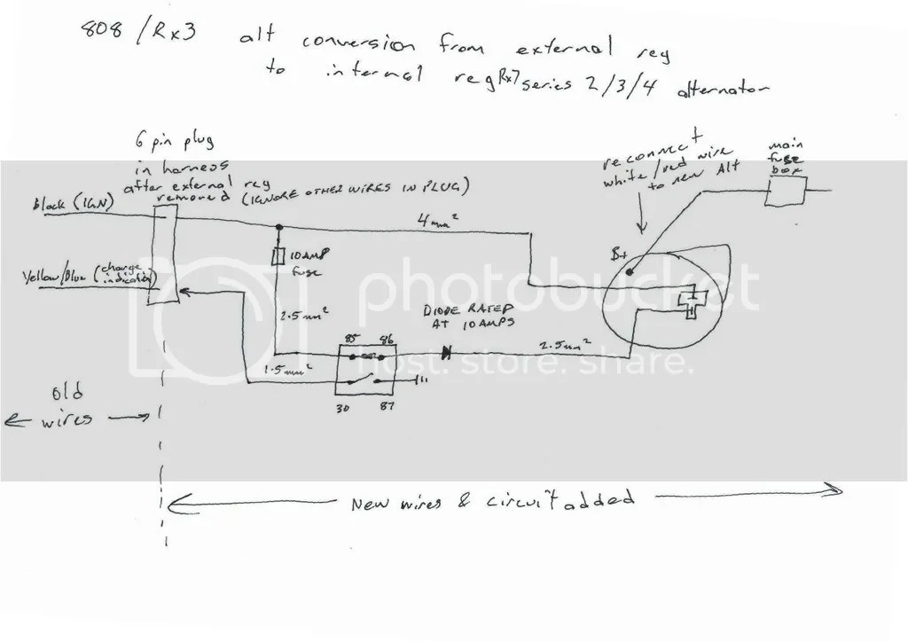 Mazda Alternator Wiring Wiring Diagram