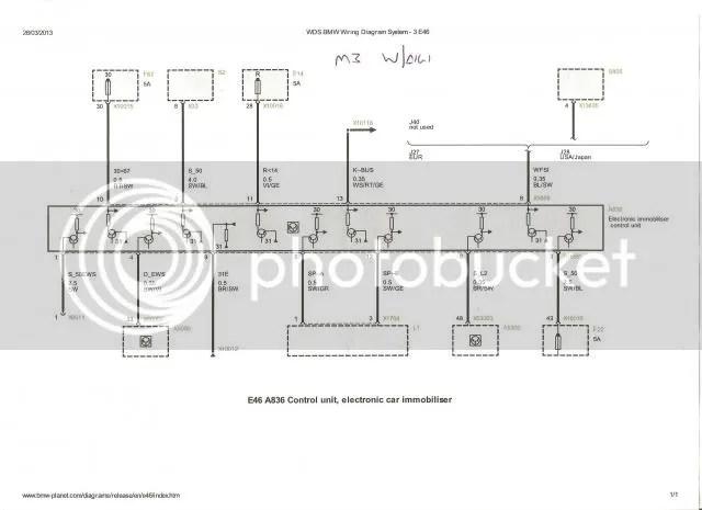 Bmw E39 Ews Wiring Diagram Online Wiring Diagram