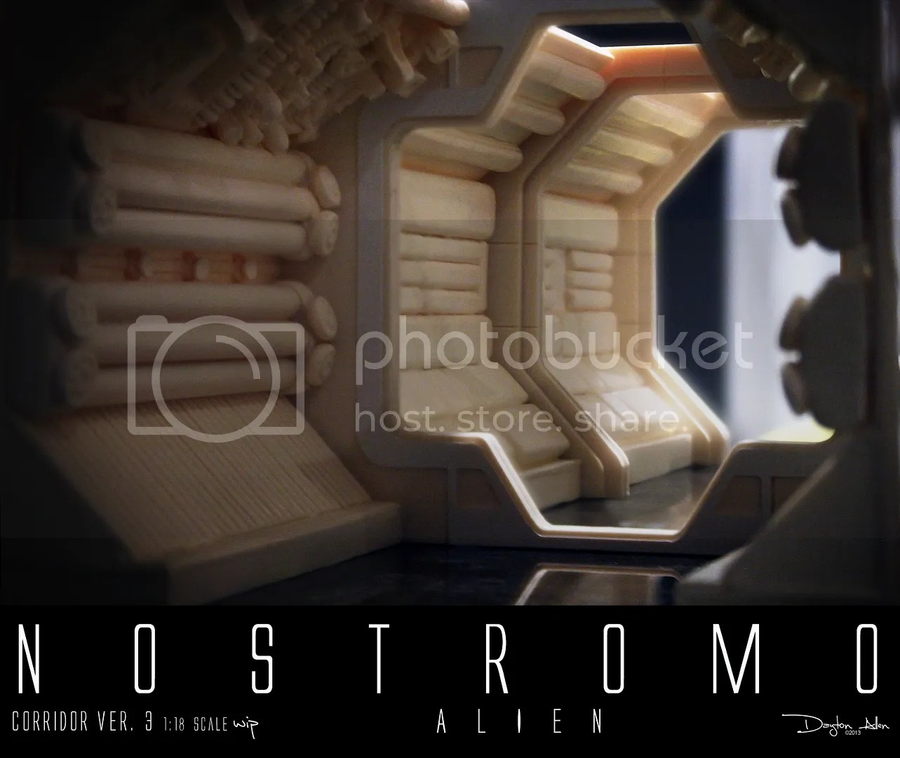 3d Floor Wallpaper Online The Aliens Legacy View Topic Nostromo 1 18 Scale
