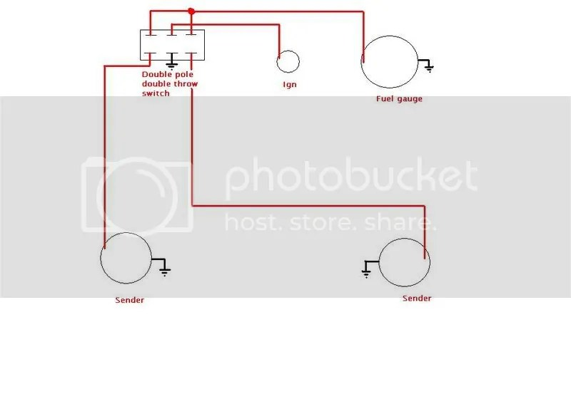 dual fuel tank wiring diagram/ help