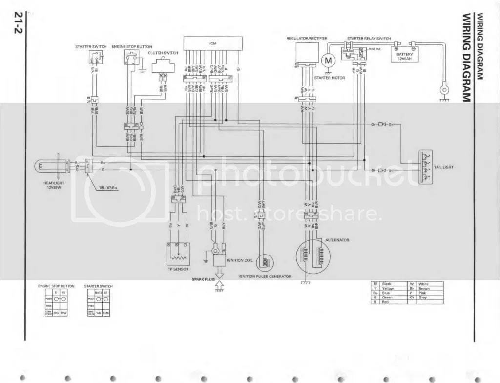 crf450 wiring diagram