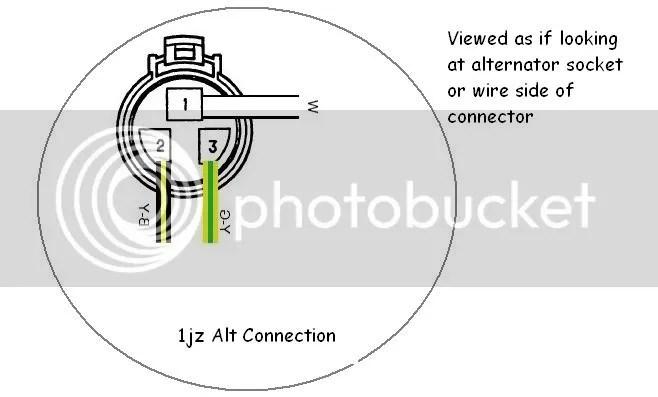 1jz Alternator Wiring - Wiring Diagram Progresif