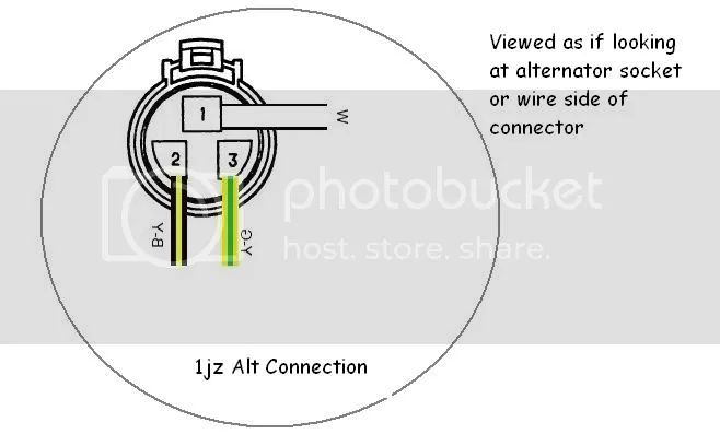 1jz alternator wiring diagram