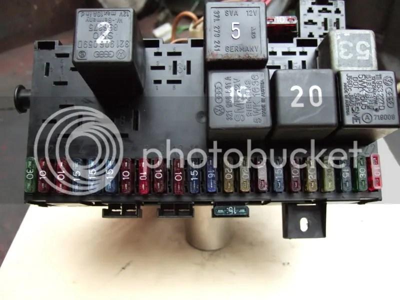 Vw Caddy Mk1 Fuse Box Layout Wiring Schematic Diagram