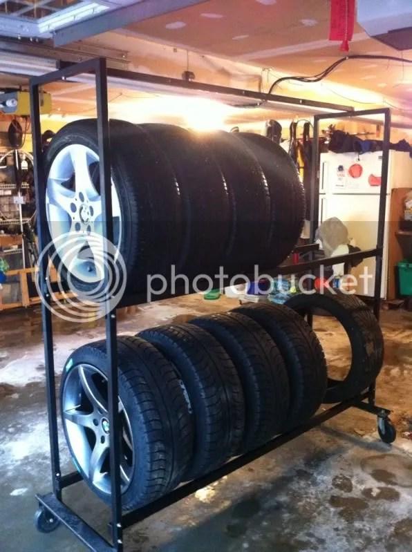New Wheel Storage Rack For Garage