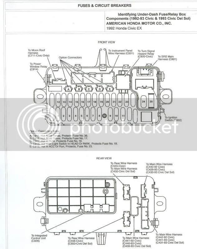 92 civic fuse diagram honda civic radio wiring diagram honda wiring