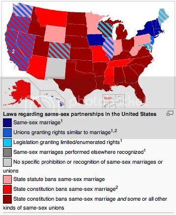 List of same sex marriage states