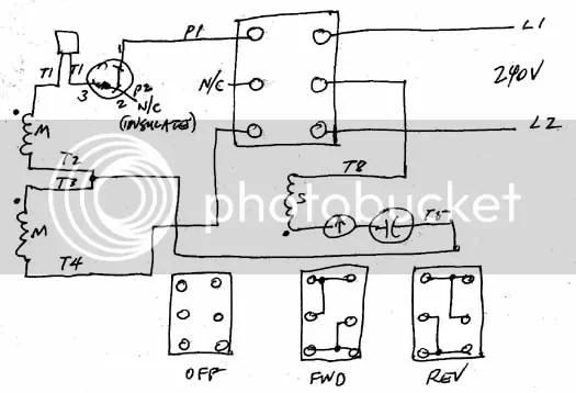 240 single phase wiring diagram volt single phase motor wiring