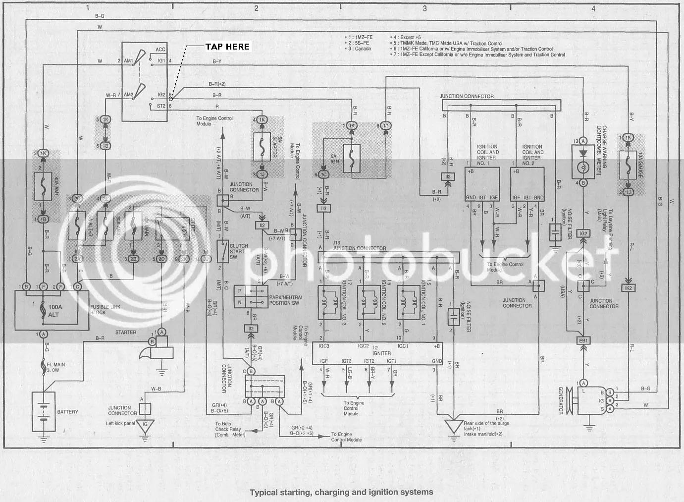 93 toyota previa fuse box diagram