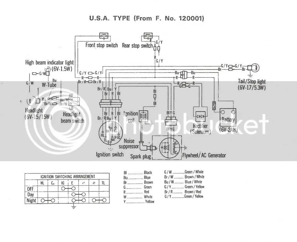1971 honda ct70 wiring diagram images