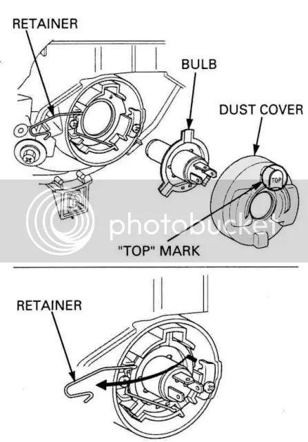 honda ridgeline headlight assembly diagram