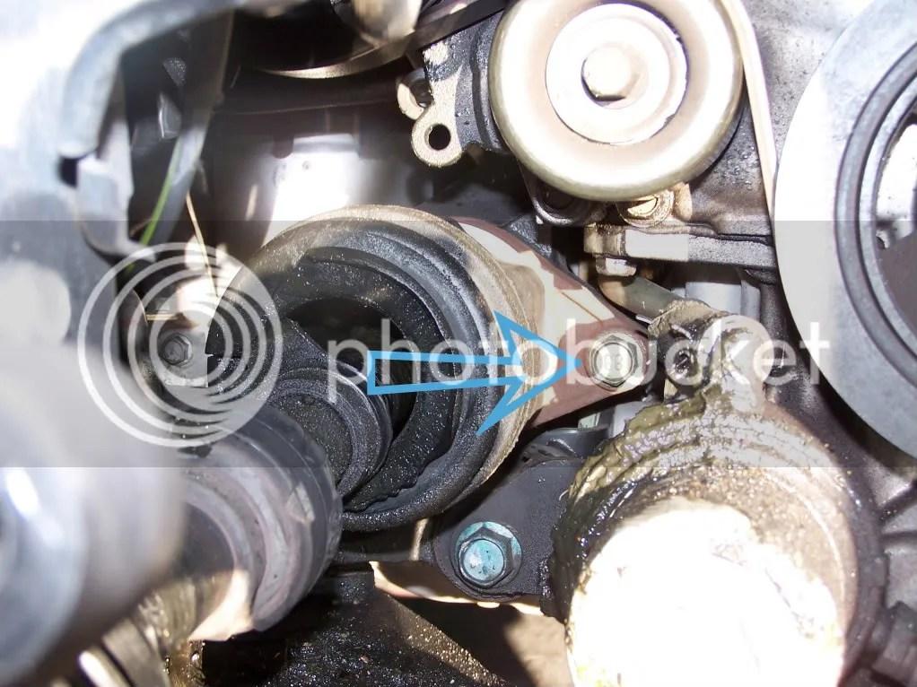 DIY 6spd manual CV shaft Replacement (may be same for CVT) - Nissan