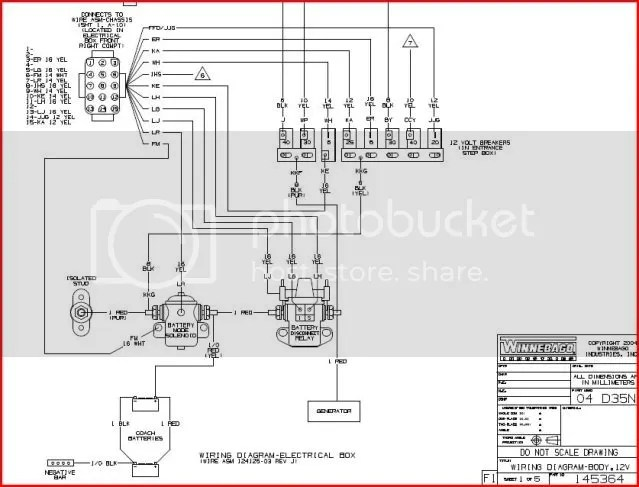 1978 Winnebago Wiring Diagram Schematic Wiring Diagram