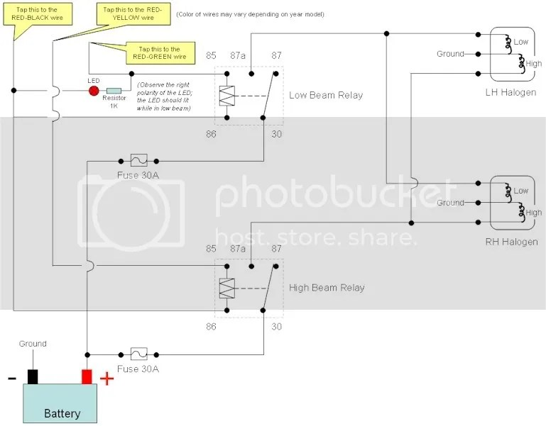 AE101 Headlight Wiring - Toyota Nation Forum  Toyota Car and Truck