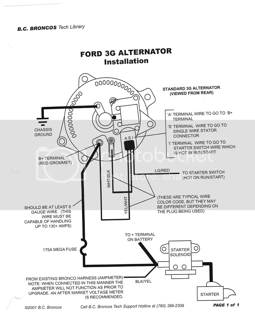 1972 Ford Mustang Alternator Wiring Wiring Diagram