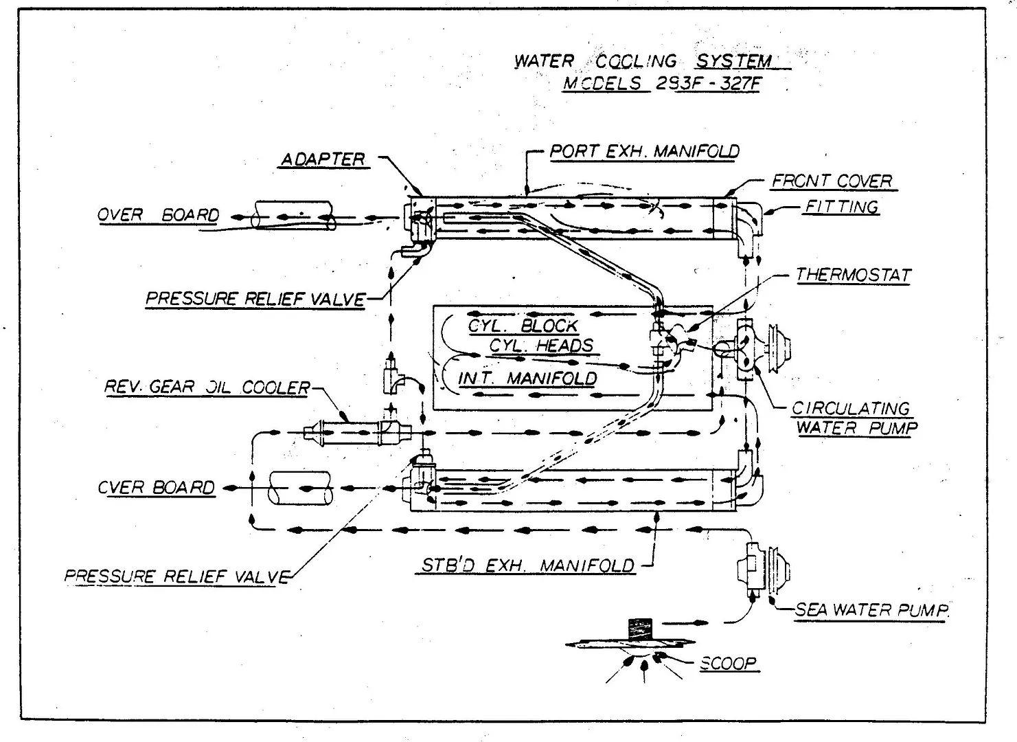 engine diagram intake manufold