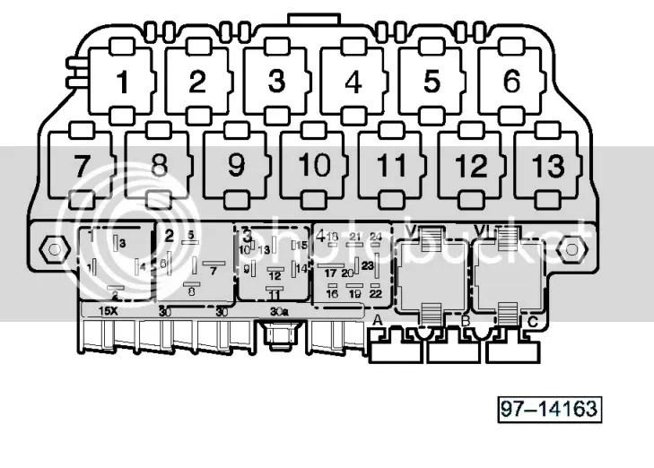 VWVortex - 03 Jetta relay diagram or under dash picture needed