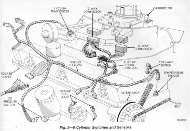 225 slant 6 plug wire diagram