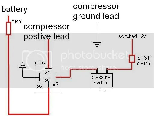 Air Horn Relay Wiring Diagram Wiring Diagram