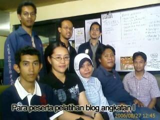 pelatihan blog
