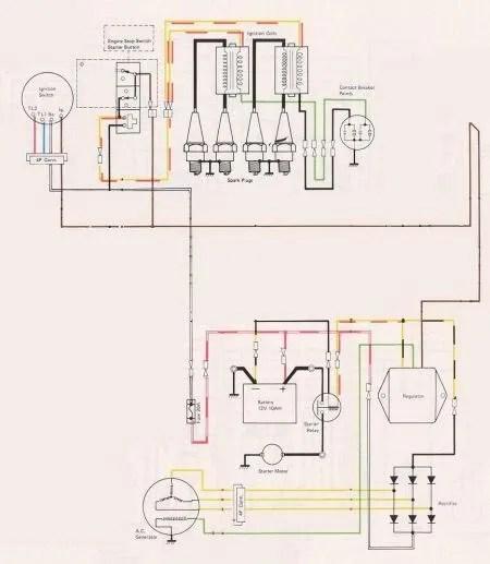 77 kz1000 alternator wiring diagram kawasaki kz wiring diagram
