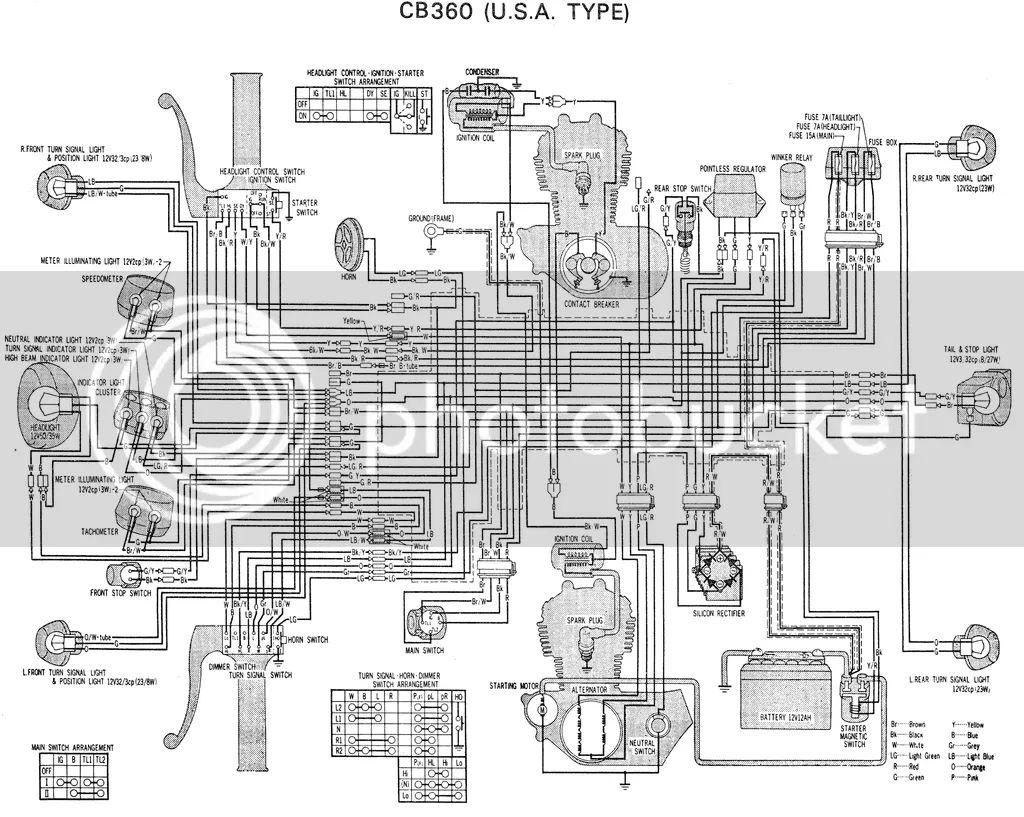 cb360 wiring diagramcbcjcl360