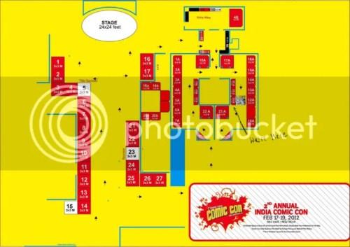Comic Con map